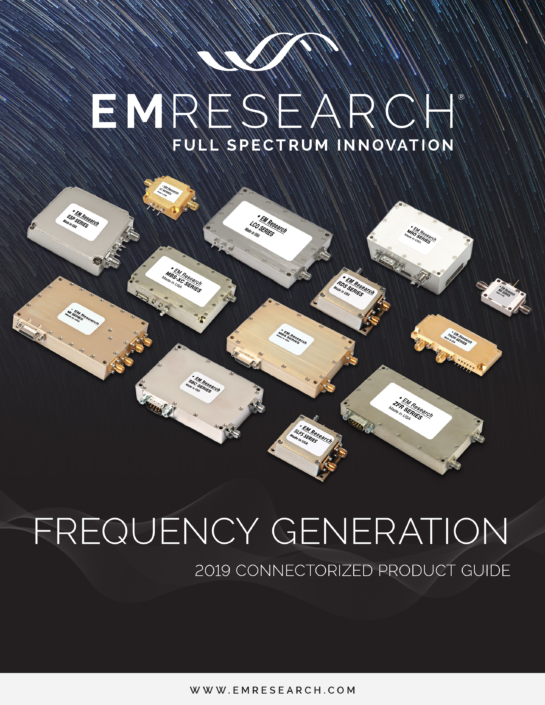 EMR Connectorized Frequency Generation Catalog
