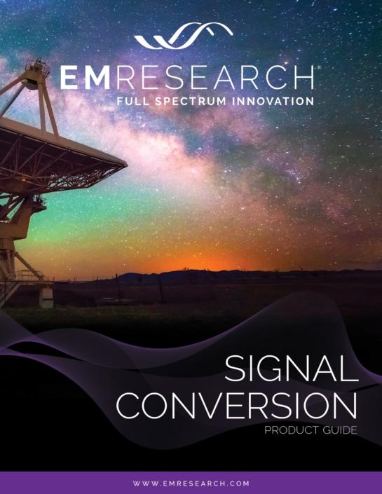 EM Research Signal Conversion Catalog