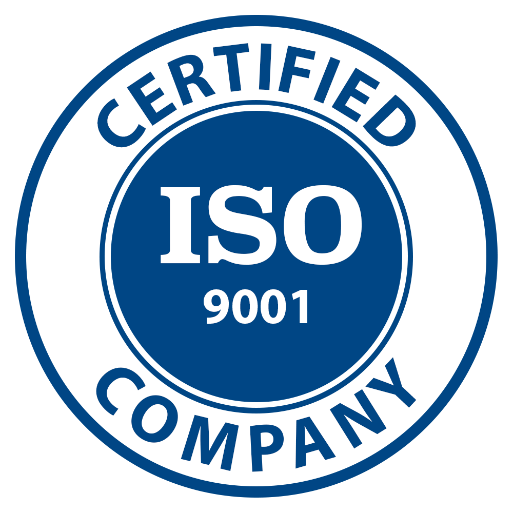 ISO Certification Icon, Date Neutral