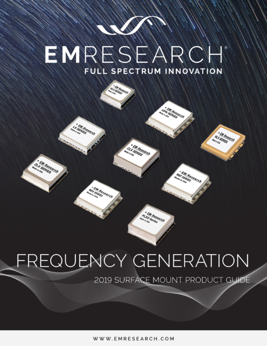 2019 Surface Mount Frequency Generation Cover Image