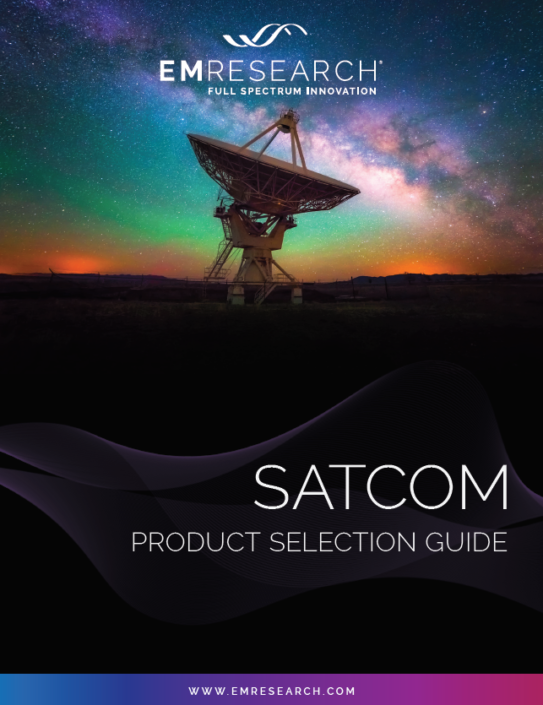 SatCom Product Guide Cover Image